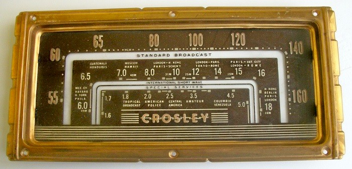 Crosley 24 Series Dial & Frame Complete