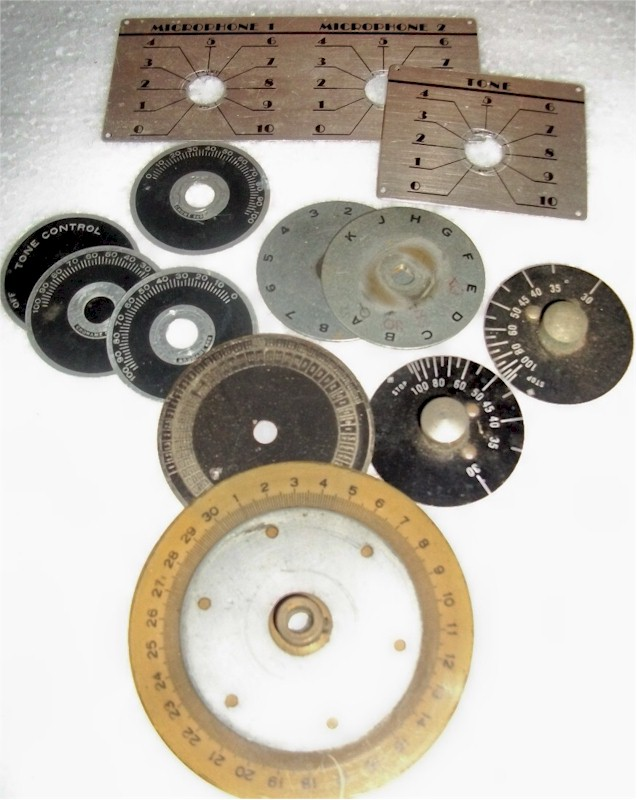 Dials and Control Plates