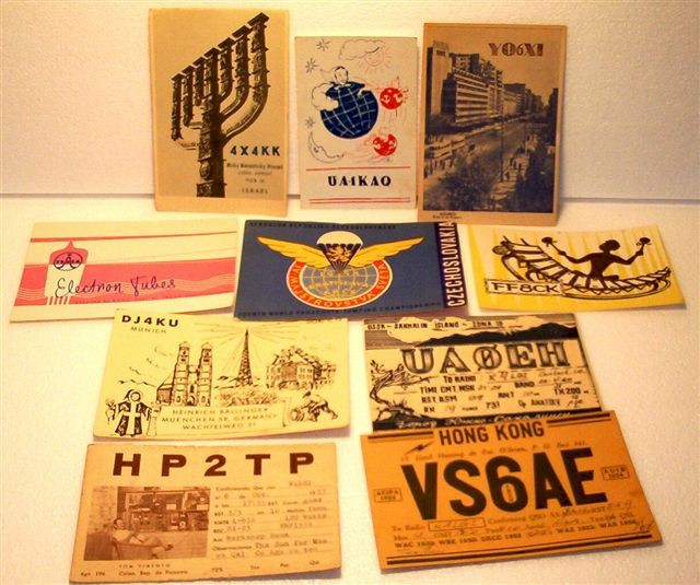 QSL Cards Set of 10