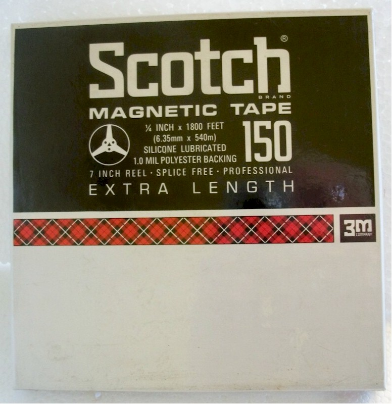 Scotch Magnetic Recording Tape 150 - 3M